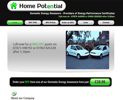 MyHomePotential Website